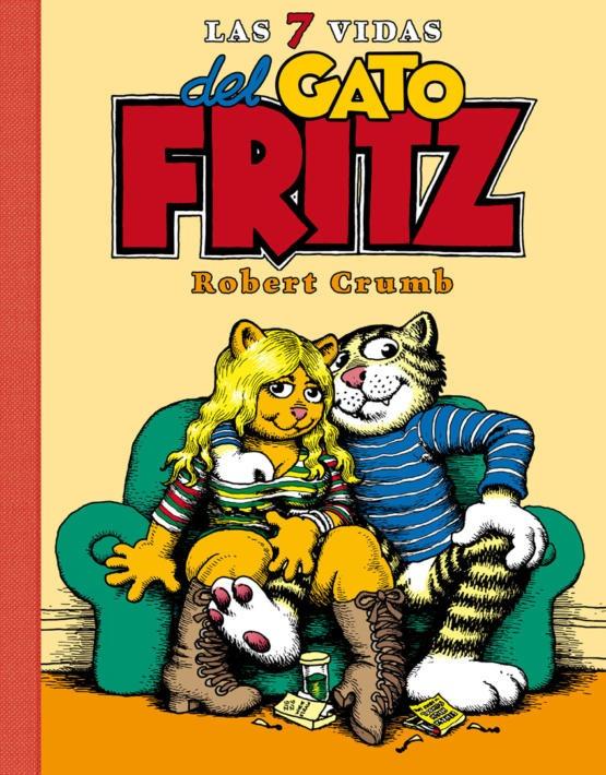 Crumb - Las 7 vidas del Gato Fritz - Portada