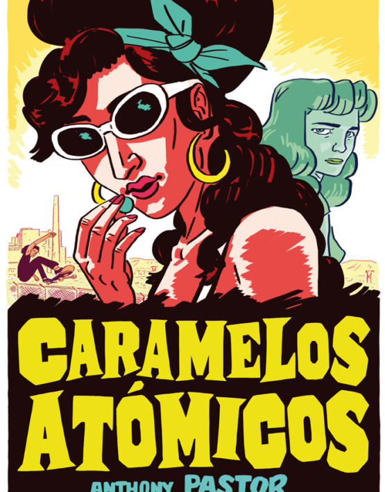 Anthony Pastor - Caramelos at—micos - cubierta.indd
