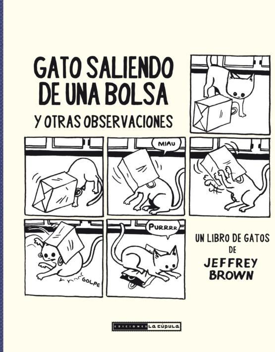 Jeffrey Brown - Gato saliendo de una bolsa - cubierta.indd