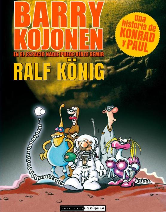 Konig - Barry Kojonen - cubierta