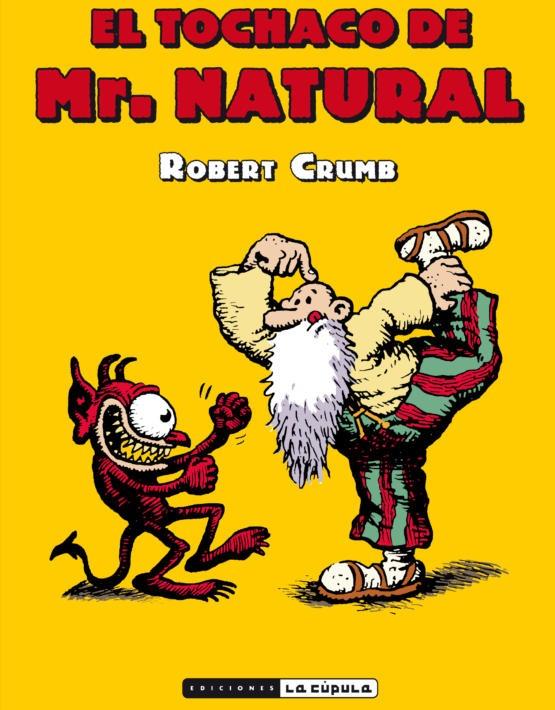 Robert Crumb - El tochaco de Mr. Natural - cubierta.indd