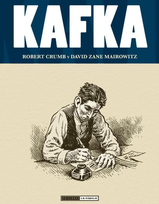 Robert Crumb - Kafka - cubierta - edición piccolo.indd