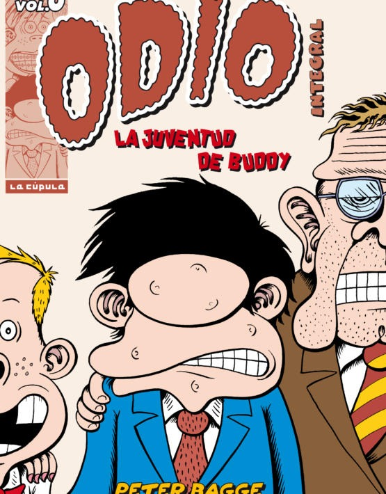 Peter Bagge - Odio Integral 0 -3aEd - cubierta.indd