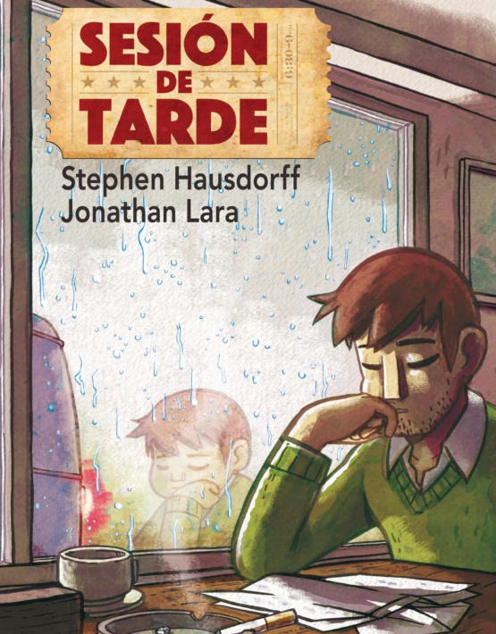 Sthephen Hausdorff y Jonathan Lara - Sesi—n de tarde-cubierta.i