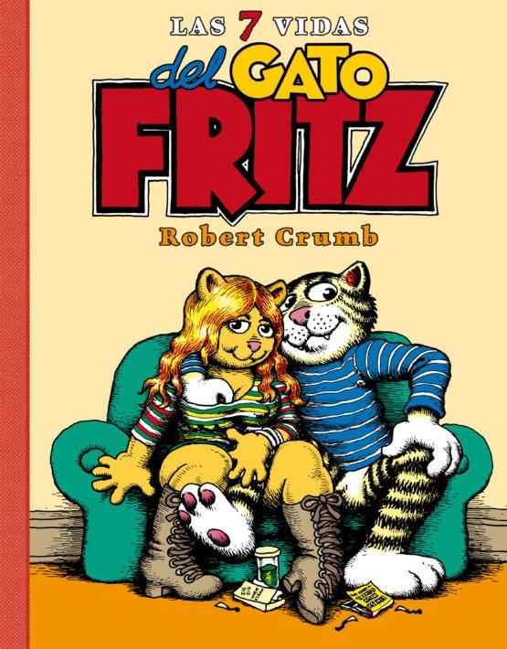 Robert Crumb - Las 7 vidas del Gato Fritz - Cubierta.indd