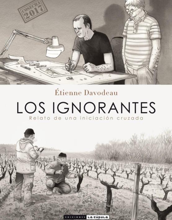 Etienne Davodeau - Los ignorantes - Cubierta - Rustica 17 x 24.i