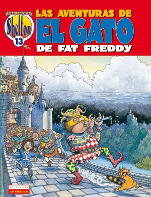 O. C. Shelton 13: El gato de Fat Freddy 3