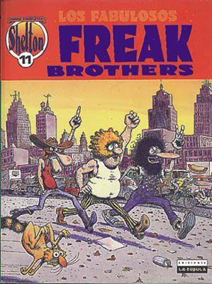 O. C. Shelton 11: Los fabulosos Freak Brothers