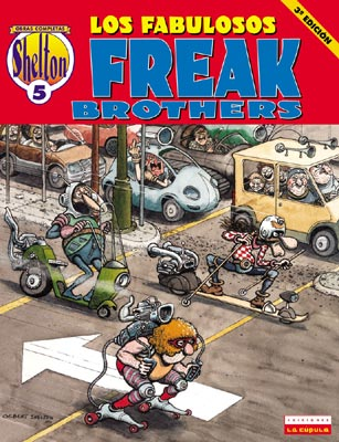 O. C. Shelton 05: Los fabulosos Freak Brothers
