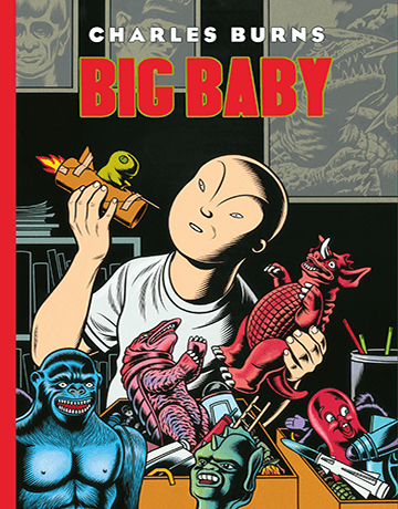 Charles Burns-Big Baby - cubierta