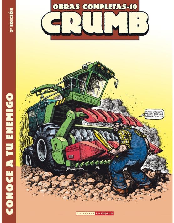 Crumb 10 - conoce a tu enemigo cubierta