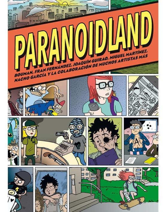 Paranoidland - Integral - Cubierta.indd