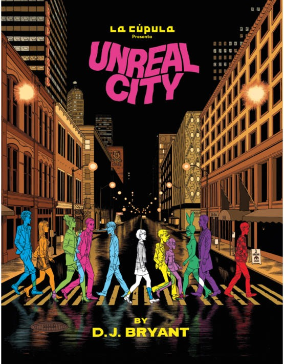 D.J. Bryant - Unreal City - cubierta.indd