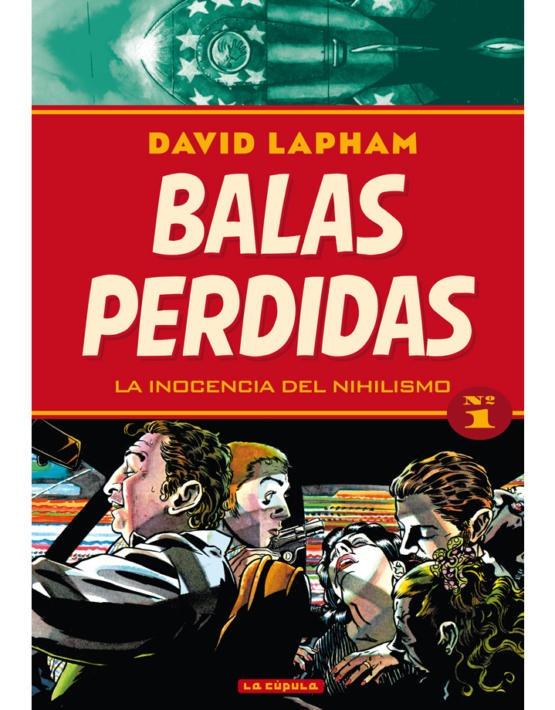 David Lapham - Balas perdidas 1 - cubierta.indd