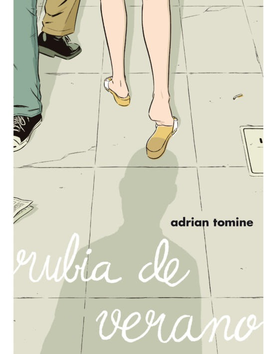 Adrian Tomine - Rubia de verano - cubierta.indd